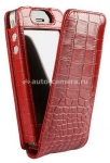 Чехол для iPhone 4/4S Sena Magnet Flipper Case, цвет Red Croco (163017)