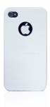 Чехол для iPod touch 4G iCover Rubber, цвет White (IT4-DER-MS/W)