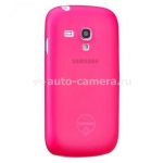 Чехол для Samsung Galaxy S3 mini (i8190) Ozaki O!Coat-0.4Jelly, цвет pink