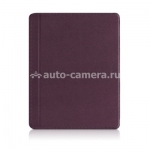 Чехол-подставка для iPad 3 и iPad 4 Macally protective snap-on case, цвет purple