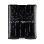 Кожаный чехол для iPad 2 Mapi Sestos Durable Slim Case, цвет croco black (M-150759)