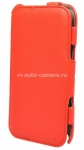 Кожаный чехол для Samsung Galaxy Note II (N7100) Optima Case, цвет red (op-N2-rd)