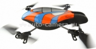 Квадрокоптер Parrot AR.Drone 1.0 Zone 2, цвет Blue (PF720022AM)