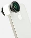 Объектив для iPhone 5 / 5S Olloclip 4 in 1, цвет silver (OCEU-IPH5-FW2M-SW)